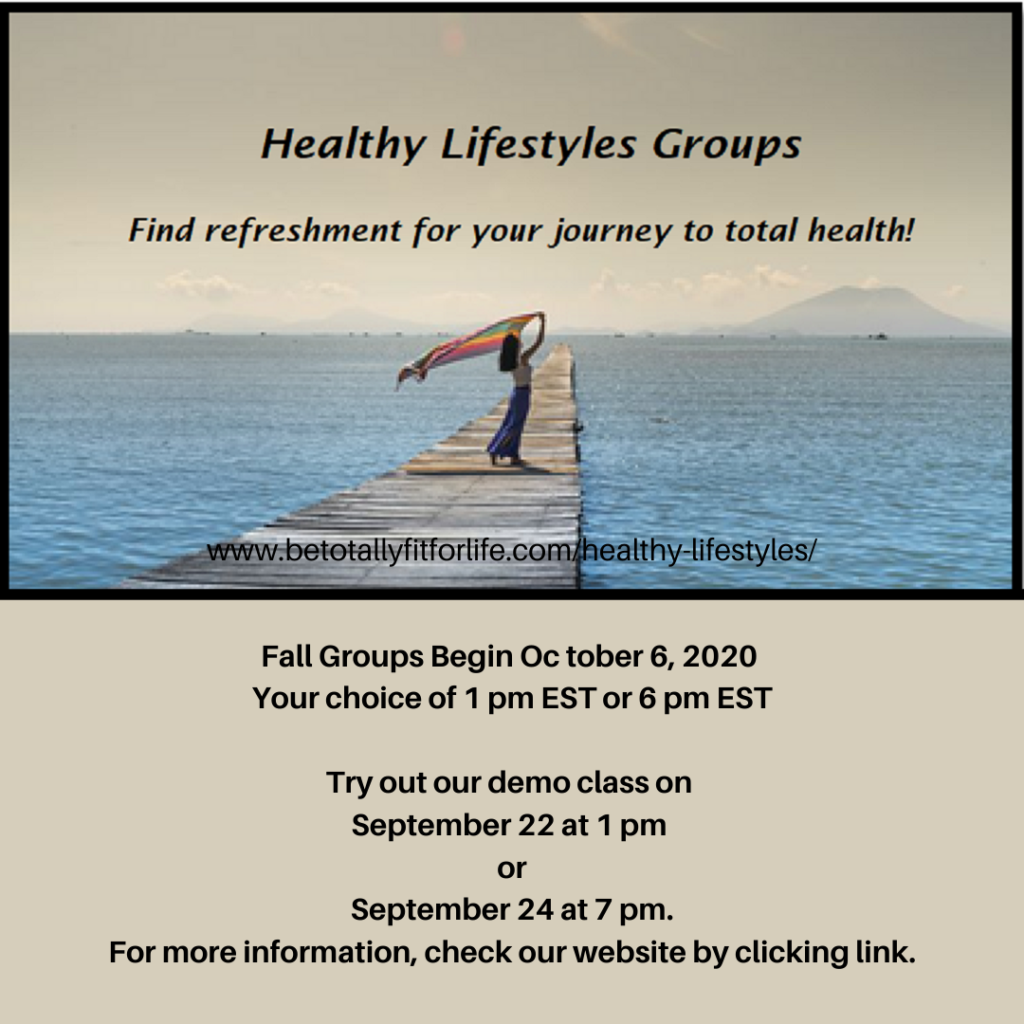 Fall Healthy Lifestyles Groups