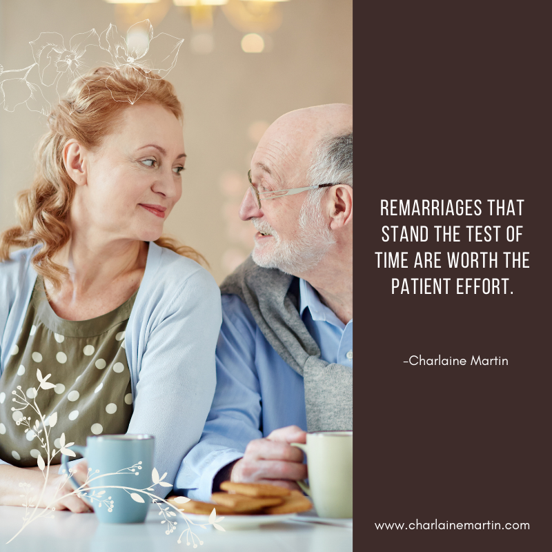 Remarriage is worth the effort.