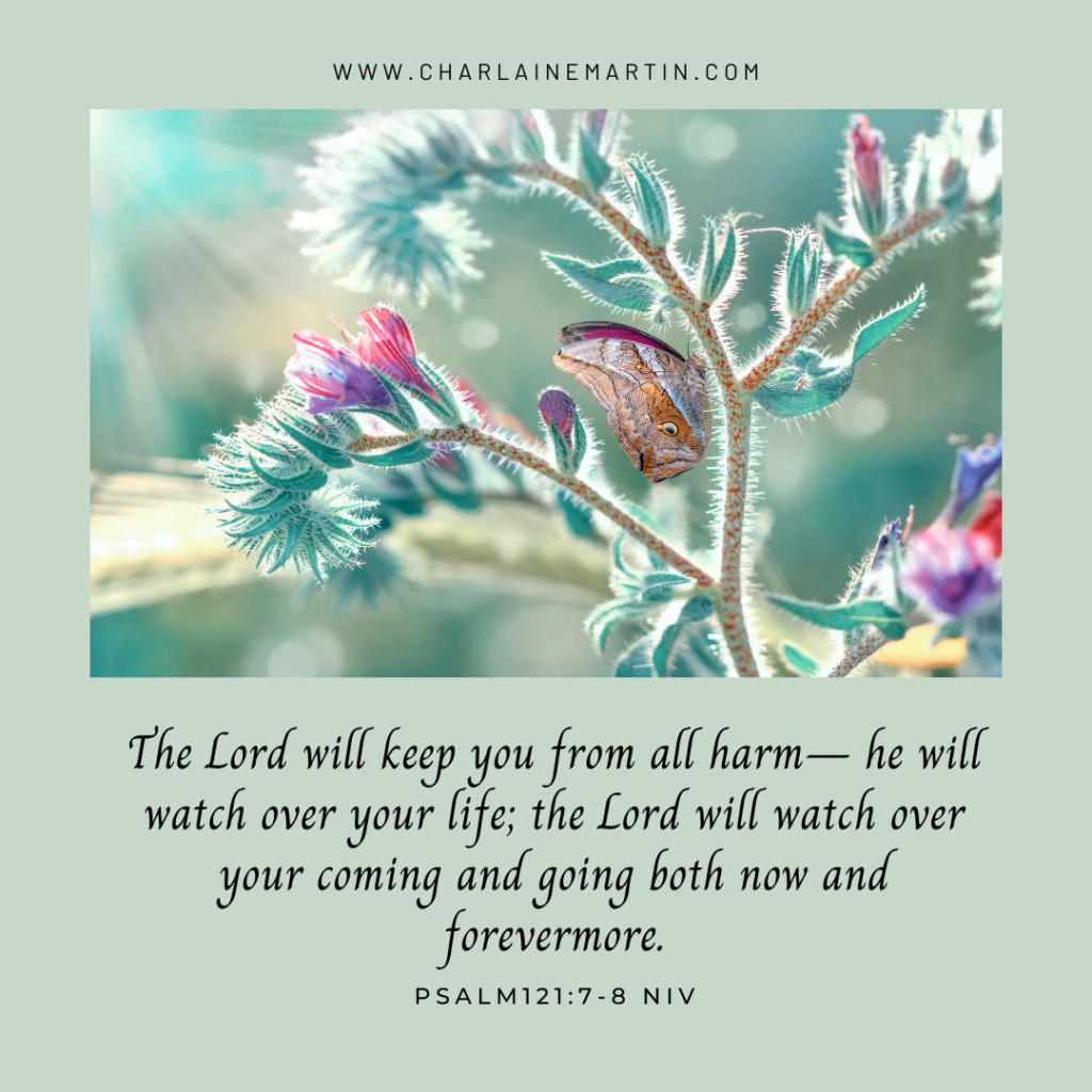God watches over you.