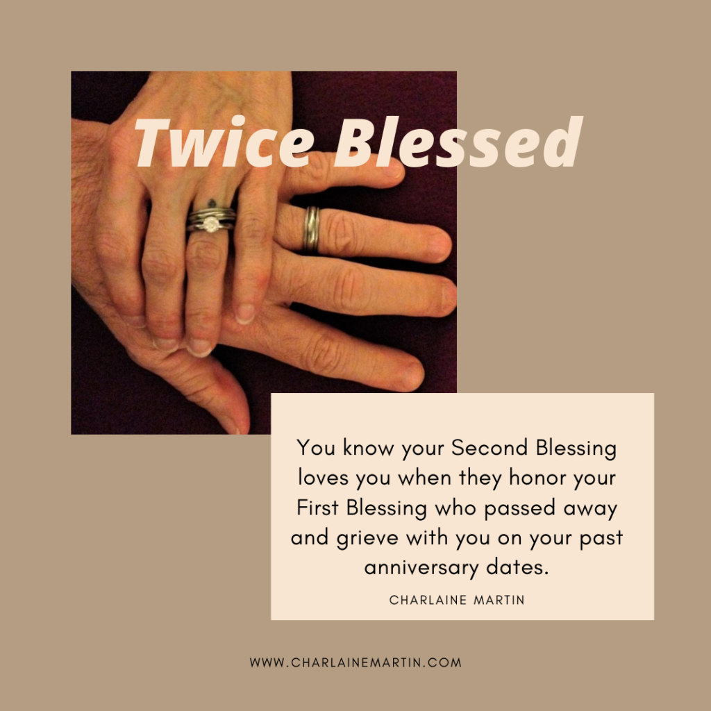 Your Second Blessing honors your First Blessing.